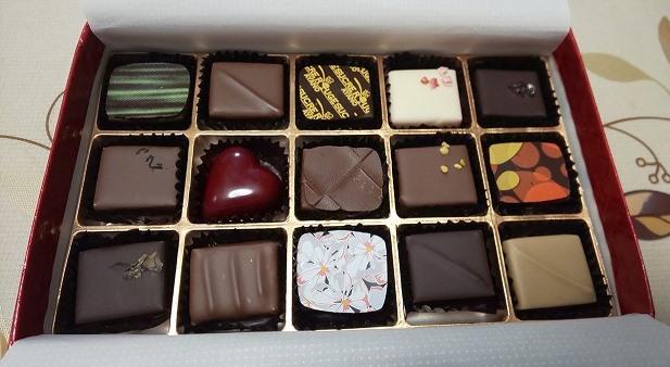 シュークルルージュのチョコレート